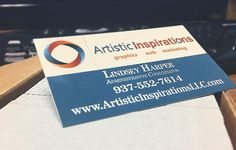 Business cards for our Administrative Coordinator. She is the person you will normally talk to when you call the office!
