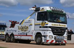 MERCEDES ACTROS - Kardos Recovery in the UK