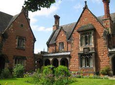 https://flic.kr/p/6oGhkR | Almshouses, Shrewsbury | 'Hospital of the Holy Cross' or 'Holy Cross Houses', built 1853.