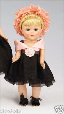 Vogue Simply Elegant Sister Vintage Reproduction Ginny Doll  from 2011 is offered on Ebay as a 10 day auction. There is also a Buy-It-Now listing that is separate. Her big sister Jill is in a separate listing.