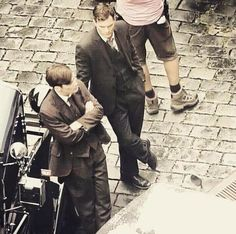 Jamie Dornan and Cillian Murphy who are playing Czech war heroes Jan Kubis and Josef Gabcik were spotted in Prague on the set of the movie Anthropoid http://everythingjamiedornan.com/gallery/thumbnails.php?album=67 https://www.facebook.com/everythingjamiedornan/?ref=aymt_homepage_panel