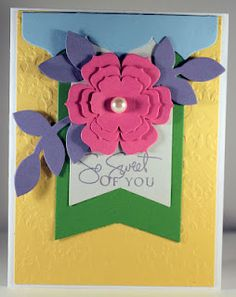Another beautiful card.  Love these colors!