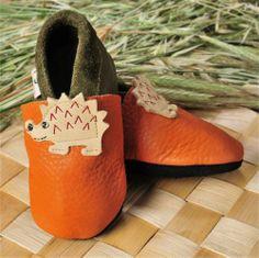 Patuco ecológico de suela blanda ERIZO - Marketplace de tiendas para niños de 0 a 14 años