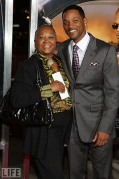 Actor Will Smith here with his mother Caroline Smith, was brought into this world by the most notorious abortion doctor in America, Kermit Gosnell Will Smith, Jaden Smith, Black Actors, Black Celebrities, Famous Celebrities, Celebs, Pregnant Celebrities, Indian Celebrities, Celebrity Babies