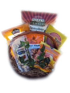 Certified Organic Fathers Day Gift Basket for Dad