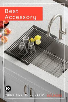 workstation kitchen sink accessories