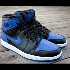 Men s Air Jordan 1 Royal New in box. Original everything. Sizes 8.5 e4bf60baa