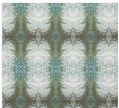 Blue, Grey, Sage Green & Cream Fabric 'Montauk'