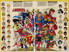 Who's Who Legion of Superheroes
