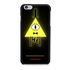 Bill Cipher From Gravity Falls iPhone 6 Case Anybody know what it says on the bottom?