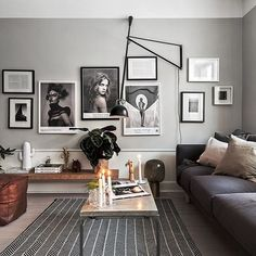 Lovely low hanging artwork in this mellow living space. The Design Chaser: Bench Seat Styling