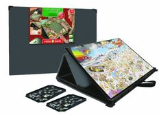 Puzzle Mates Portapuzzle Pro Jigsaw Puzzle Boards (up to 1000 pieces) http://jigsawpuzzlesforadults.com/jigsaw-puzzle-boards/