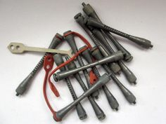 vintage permimg | Vintage - Hair Perm Rods Curlers - Concave Metal - 12x 4.5mm - RETRO