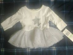 Guess Girls Cute Tutu Baby Toddler Skirt Costume Shining Star Outfit  3-6 Months #Guess #Dressy