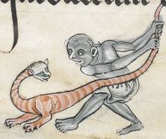 """Detail from """"The Rutland Psalter"""", medieval (c1260), British Library Add MS 62925. f 74v"""