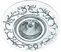 Встраиваемый светильник Donolux N1623-Silver white Decorative Plates, Tableware, Dinnerware, Dishes, Place Settings