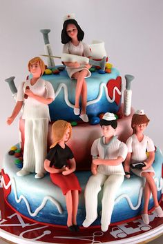 viorica's cakes: Medical Clinic = I want this for celebration when I get into med school! haha
