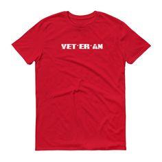 Veteran Short sleeve t-shirt