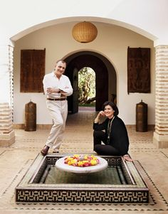 Paloma Picasso's Moroccan House Pictures - Paloma Picasso on Interior Design - Harper's BAZAAR