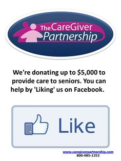 """Help us donate up to $5,00 to provide care to  #seniors. """"Like"""" us on Facebook! #seniorcare #caregiving #caregiving #elderly Dementia Awareness, Alzheimer's And Dementia, Boomer Generation, Aging In Place, Daily Challenges, Long Term Care, Can You Help, Senior Living, Alzheimers"""