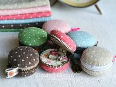 Whip up some irresistibly adorable macaron coin purses for your bridesmaids! I discovered these sweet gift ideas at Emmaline Bride, and the tutorial can be found at Craft Passion.