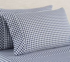 Shop gingham sheets from Pottery Barn. Our furniture, home decor and accessories collections feature gingham sheets in quality materials and classic styles. Percale Sheets, Linen Sheets, Linen Bedding, Bed Linens, Bed Sheets, Cotton Bedding, Organic Cotton Sheets, Cotton Sheet Sets, Pillowcases & Shams
