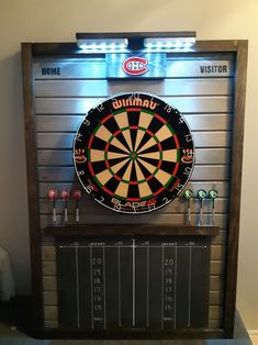 Dartboard Ideas, Best Darts, Game Room Decor, Dart Board, Montreal, Man Cave, Projects To Try, Boards, Home Decor Ideas