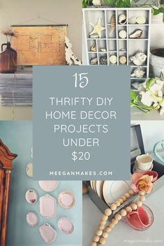 Create a fresh new look in your home with DIY Projects under $20