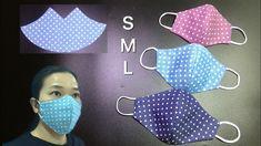realidad solo 3 minutos para hacer esta máscara:es demasiado simple para... Small Sewing Projects, Sewing Projects For Beginners, Sewing Hacks, Sewing Tutorials, Sewing Crafts, Dress Tutorials, Easy Face Masks, Homemade Face Masks, Diy Face Mask