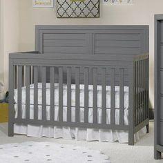 Ti Amo Castello Convertible Crib Finish: Gray