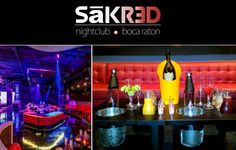 FREE Entry, Table & Bottle of Champagne - Sakred Nightclub is the newest, most lavish addition to nightlife, events, and entertainment in Boca Raton. Celebrate your birthday party of 6 or more at Sakred and enjoy FREE Entry, a FREE table and FREE bottle of champagne!  Sign up and claim this gift. Make it a party of 10 or more and we'll give you a free PREMIUM bottle of alcohol with all the mixers. MUST MENTION BIRTHDAYCOMP when making your reservation. (561) 609-2590