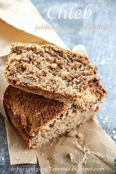 Chleb jabłkowo-orzechowy bez mąki