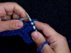 apprendre a tricoter tricoter une boutonniere 1