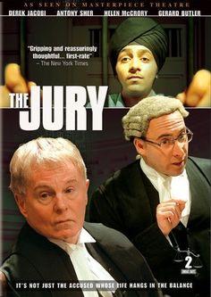 The Jury, starring Derek Jacobi, Antony Sher, Helen McCrory, Gerard Butler, Michael Maloney, Sylvia Syms Jack Shepherd and John Duttine, 2002