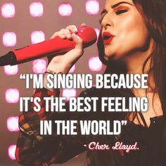 #sing #quotes