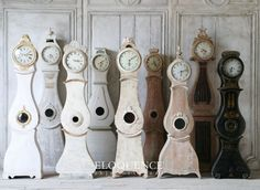 Antique Swedish Tall Clocks from Eloquence