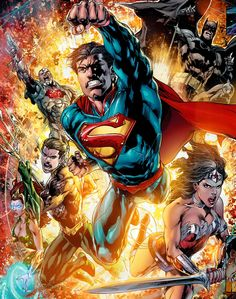 Justice League by Ivan Reis