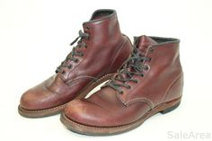 Red Wing Shoes USA Made Mens 9.5 42.5 Beckman 9011 Leather Ankle Chukka Boots cr #RedWing #AnkleBoots