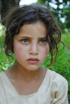 Kashmiri Eyes See The Sadness In Her...