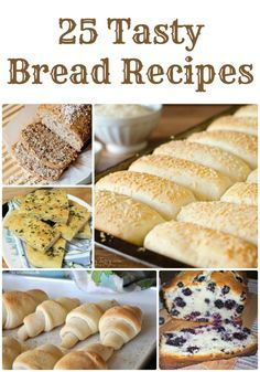 Easy Homemade Bread Recipes! Great Fall Food Recipes and Easy Dinner Recipes!