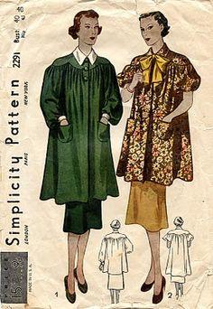 1930s smock pattern