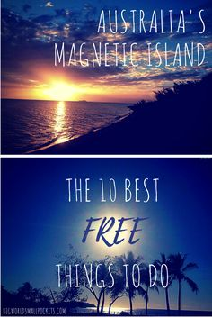 The 10 Best Free Things to Do on Magnetic Island, Queensland, Australia Big World Small Pockets Australia Tourism, Coast Australia, Queensland Australia, Australian Road Trip, Airlie Beach, Water Activities, Free Things To Do, Great Barrier Reef, Travel Guides