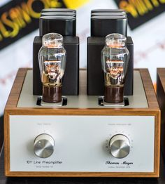 Moving forward in the signal path of our demo system, the line stage is next to be presented. It is a line preamplifier with Tribu. Radios, Radio Antigua, Valve Amplifier, Headphone Amp, Hifi Stereo, Vinyl Music, High End Audio, Vacuum Tube, Cool Tech
