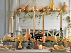 Neil Alan Designs: Life + Style: MORE THANKSGIVING TABLE DECOR IDEAS... IT'S ALL IN THE DETAILS