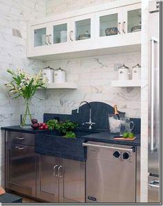 55 best Kitchen sinks with no windows images on Pinterest | Kitchen ...