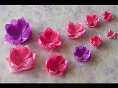 Origami - Hướng dẫn cách gấp HOA SEN VIỆT NAM FB: https://www.facebook.com/iztut Nguồn: http://iztut.com/origami/huong-dan-cach-gap-hoa-sen.html Người gấp: M...