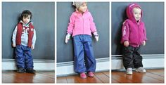 i am now obsessed with the idea of just making m her own rain/snow pants now. {rain pants tutorial by adirondackinspired}