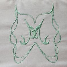 #sewing #embroidery #monogram #brother #pedesign #brothersews | Content shared via Brother Inspiration Gallery