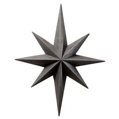 wood star - way better than the stars you see everywhere these days
