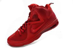 purchase cheap c0633 a530c Lebron 9 Christmas Red 469764 116